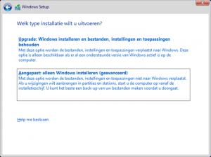 windows-10-licentie-custom-installation